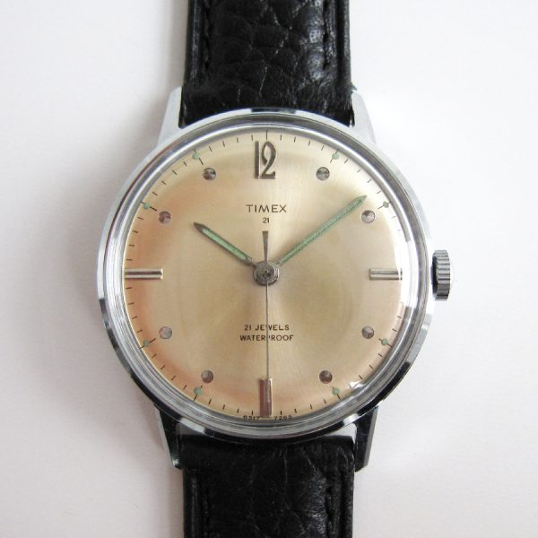 timexman Timex 21 Jewels 1965